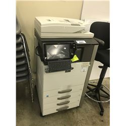 SHARP MX-4111N DIGITAL MULTIFUNCTION COPIER, BROKEN SCREEN, CONDITION UNKNOWN