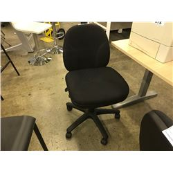 BLACK MULTILEVER STENO CHAIR
