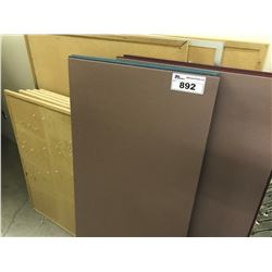 LOT OF CORK BOARDS
