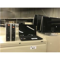 ACER LAPTOP, 2 HP MINI COMPUTERS, AND 4 COMPUTER MONITORS, ONKYO AV RECEIVER, AND MORE