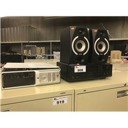 PAIR OF TANNOY REVEAL 501A ACTIVE STUDIO MONITORS