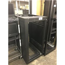 4' BLACK MOBILE SERVER RACK