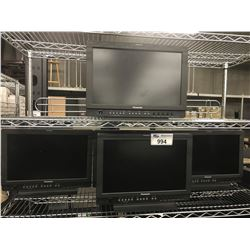 LOT OF 5 PANASONIC BT-LH1700WP MONITORS
