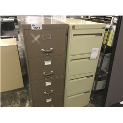 LOT OF 5 MISC. VERTICAL AND LATERAL FILE CABINETS