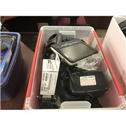 LOT OF ASSORTED RADIOS, POUCHES AND MORE