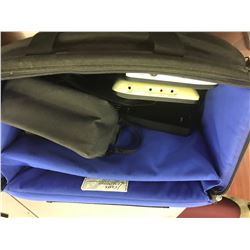 SONY CAMERA BAG AND OTHER ASSORTED BAGS