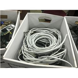 LOT OF ASSORTED 4GB AND BNC CABLES