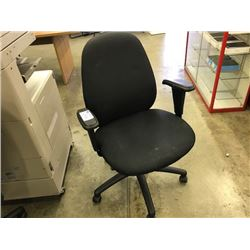 BLACK MULTI-LEVER TASK CHAIR