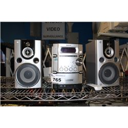 SONY STEREO AND SPEAKER SYSTEM