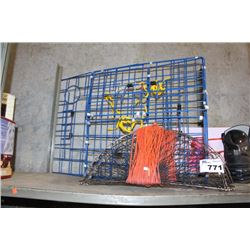 FISHING GEAR INCLUDING CRAB TRAPS AND MORE