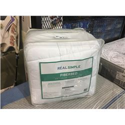 REAL SIMPLE QUEEN SIZE FIBERBED
