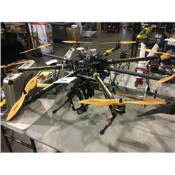 COMMERCIAL GRADE HIGH QUALITY 8 ROTOR DRONE WITH CAMERA GIMBAL - NO CAMERA OR REMOTE