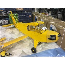 LARGE RC GAS AIRPLANE BODY - APPROX 6 FT - NO WINGS