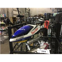ALIGN TREX 600 GAS POWERED RC HELICOPTER - APPROX 4 FT