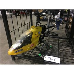 LARGE GAS POWERED RC HELICOPTER - APPROX 4 FT