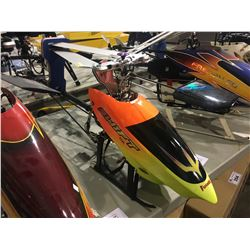 LARGE SWIFT NX BATTERY POWERED RC HELICOPTER - APPROX 4 FT