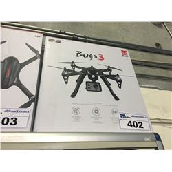 BUGS 3 QUADCOPTER DRONE