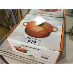 LE CREUSET ENAMELED CAST IRON POT