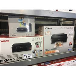 CANON PIXMA G3200 PRINTER, PIXMA MG 2929 PRINTER & CS100 CONNECT STATION