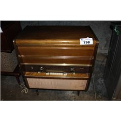ANTIQUE TELEFUNKEN RADIOGRAM