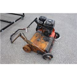 HUSQVARNA AERATOR - FIRE DAMAGE, PARTS ONLY