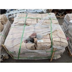 PALLET OF WALL STONES