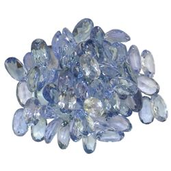 14.02 ctw Oval Mixed Tanzanite Parcel