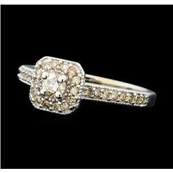0.50 ctw Diamond Ring - 10KT White Gold