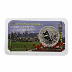 2000 Great Britain Two Pound Silver Coin