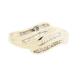 10KT Yellow Gold Lady's 0.50 ctw Diamond Ring