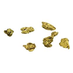 Lot of (2) Australian Gold Nuggets 2.22 Grams