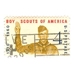 Boy Scouts of America Postage Stamp