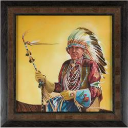 Crow Fair Elder  by Nancy Dunlop Cawdrey