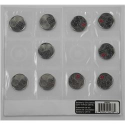 Salaberry Circulation Coin 10-Pack (2013).