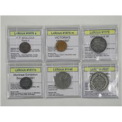 Lot of Exhibition Tokens Identified.
