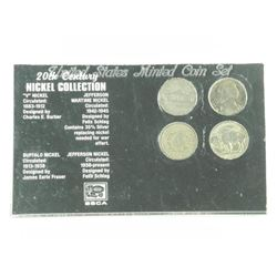 USA 20th Century Nickel Collection (1883-1912) (19