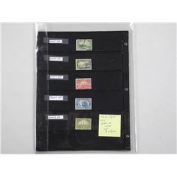 Canada Stamp Sheets. Scott's Catalogue #149-159. S