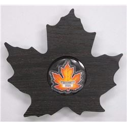 2016 - $20 Colourful Maple Leaf .9999 Fine Silver.