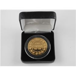 Gold Plated One Century Medal 'Vancouver' Proof