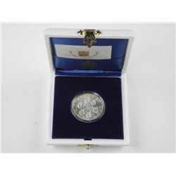 'Silver' Proof Vatican Coin 500L Cased (SE)