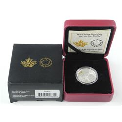 2014 - .9999 Fine Silver $3.00 Coin 'Wait for me D