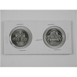 2x Coins of Israel 'Silver'