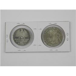 2x Coins of Germany 'Silver'