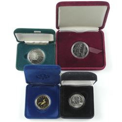 4x Cased Coins - RCM Issues and USA