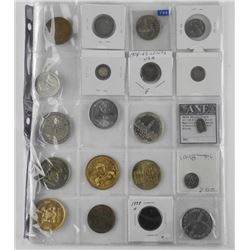 20x Mixed Coins and Medals Includes Silver and USA