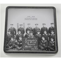 Canada's Navy Recruits (1910-2010) Coin and Stamps