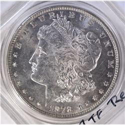 1878 7TF REV 78 MORGAN DOLLAR BU