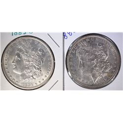 1882-O & 1883-O MORGAN DOLLARS GEM