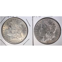 1885-O & 1887-O MORGAN DOLLARS UNC