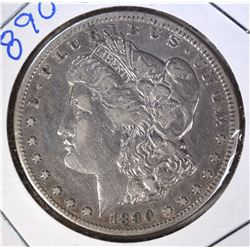 1890-CC MORGAN DOLLAR VF/XF
